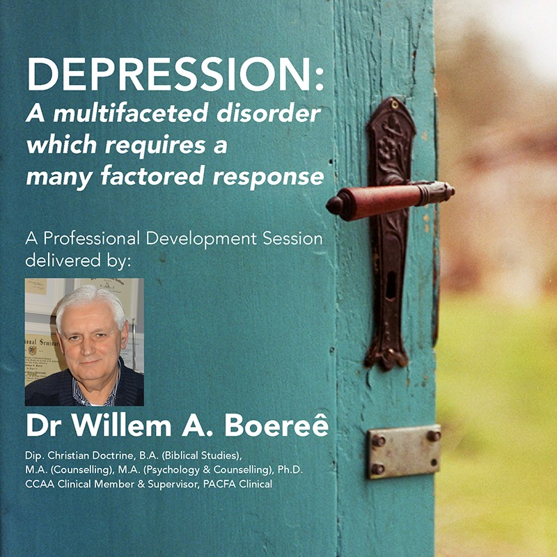 Recorded Event – Depression: A Multifaceted Disorder Which Requires a Many Factored Response