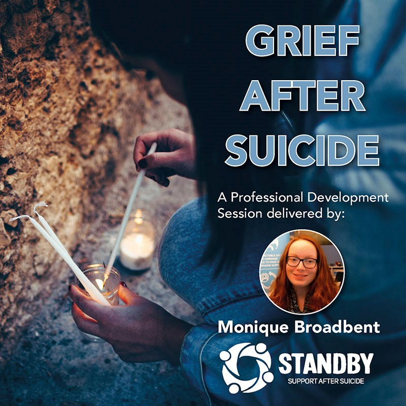 Recorded Event: Grief after Suicide – Therapeutically Supporting Clients